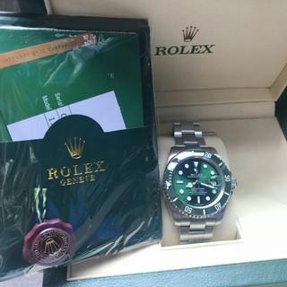 新品未使用ロレックス/Rolex 116610LV箱付きメンズ腕時計自動巻き(腕時計(アナログ))