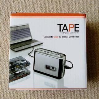 カセットテープをMP3に変換するプレーヤーです。(ヘッドフォン/イヤフォン)