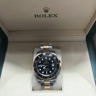 新品未使用ロレックス/Rolex 116613LN箱付きメンズ腕時計自動巻き(腕時計(アナログ))