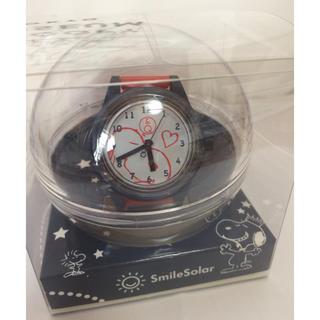 スヌーピー(SNOOPY)のPEANUTS CARNIVAL 限定デザイン Q&Qソーラー腕時計(キャラクターグッズ)