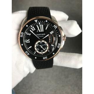 Cartier 時計 メンズ 腕時計  自動巻き 高品質時計 ブラック(その他)