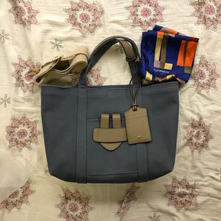 ティラマーチ(TILA MARCH)のティラマーチ シンプルバッグトート(限定スカーフ付き)(トートバッグ)