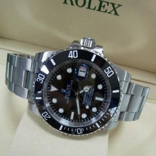 新品未使用ロレックス/Rolex 116610LN箱付きメンズ腕時計自動巻き(腕時計(アナログ))
