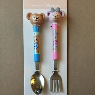ディズニー(Disney)の在庫整理中!香港ディズニーダッフィー&シェリーメイカトラリーセット(キャラクターグッズ)