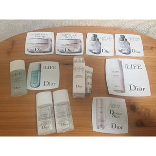 ディオール(Dior)の【新品未使用】Dior化粧品サンプル11点セット(サンプル/トライアルキット)