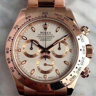 新品未使用ロレックス/Rolex 116505箱付きメンズ腕時計自動巻き(腕時計(アナログ))