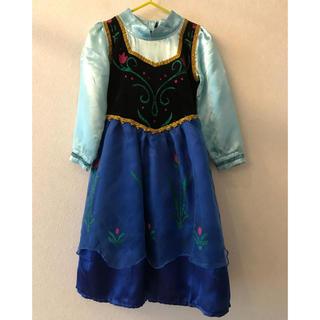 アナトユキノジョオウ(アナと雪の女王)のアナ雪ドレス 100-110(衣装)