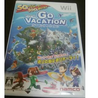 ウィー(Wii)のwii ソフト ゴーバケーション(家庭用ゲームソフト)