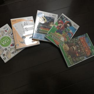 ウィー(Wii)のWiiのソフト5枚(家庭用ゲームソフト)