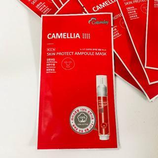 コットンベビー(COTTON BABY)の新品 CAMELLIA 高級 マスク パック 10セット(パック / フェイスマスク)