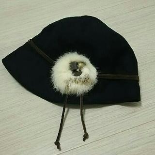 アデュートリステス(ADIEU TRISTESSE)の* 帽子*ラビットファー(ニット帽/ビーニー)