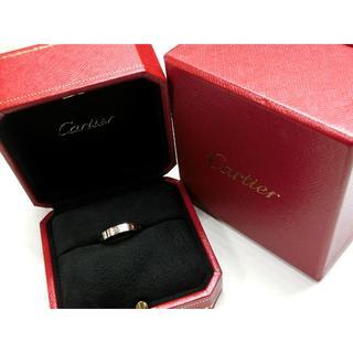 カルティエ(Cartier)の一家様専用 カルティエ ミニラブリング 750 K18WG #52(リング(指輪))