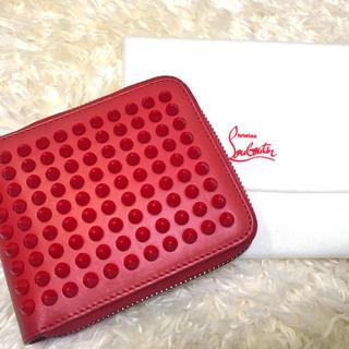 クリスチャンルブタン(Christian Louboutin)のLouboutinの二つ折りラウンドファスナー財布(財布)