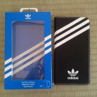 アディダス(adidas)のadidas iPhone6splus手帳型ケース(iPhoneケース)