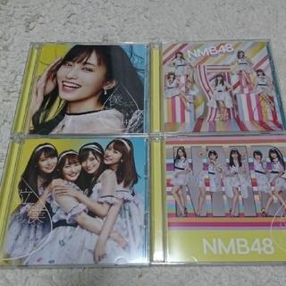 エヌエムビーフォーティーエイト(NMB48)のNMB48 19th 「僕だって泣いちゃうよ」初回盤ABCDセット4枚  (ポップス/ロック(邦楽))
