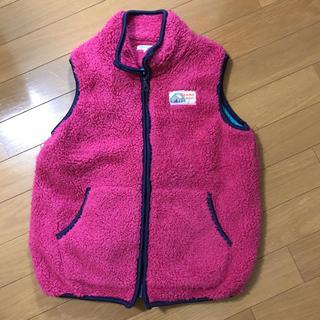 ビームス(BEAMS)のBEAMS mini  フリースベスト 130 女児(ジャケット/上着)