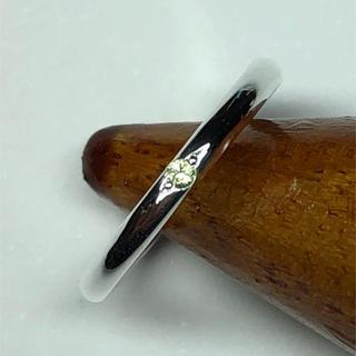 ペリドットリング(2号)(リング(指輪))