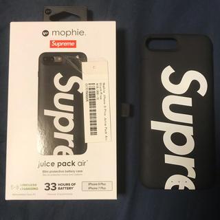 シュプリーム(Supreme)のsupreme iPhone 7 8 plus  ケース 黒 美品(iPhoneケース)