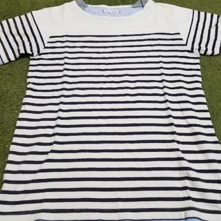 アイオーデータ(IODATA)のボーダーTシャツ(Tシャツ(半袖/袖なし))