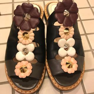 FENDI - FENDI  お花 サンダル