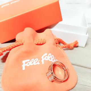 フォリフォリ(Folli Follie)の【Folli Folli】新品 リング 指輪 16号(リング(指輪))