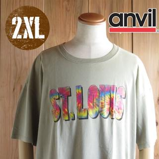 アンビル(Anvil)のET136/2Xサイズ/セントルイス Tシャツ(Tシャツ/カットソー(半袖/袖なし))