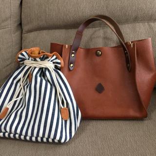 クレドラン(CLEDRAN)のクレドラン トートバッグ&巾着セット(トートバッグ)