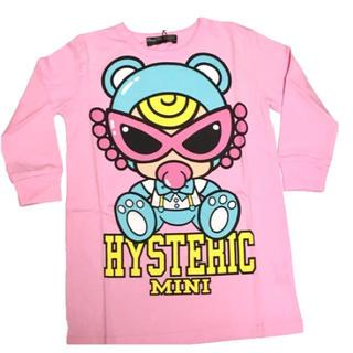 HYSTERIC MINI - 在庫処分セール!ヒステリックミニ♡長袖ビッグTシャツ  ピンク  ヒスミニ