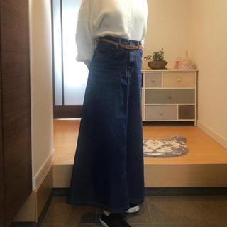 GU - GU   デニムロングスカート