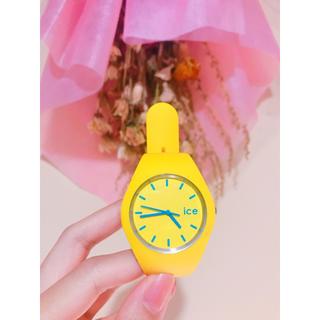 アイスウォッチ(ice watch)の☆ アイスウォッチ icewatch 黄色 ☆(腕時計)