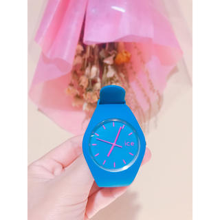 アイスウォッチ(ice watch)の☆ アイスウォッチ icewatch ブルー ☆(腕時計)
