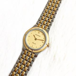 ウォルサム(Waltham)の電池交換込み☆ ウォルサム スイス製 レディース腕時計(腕時計)