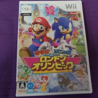 ウィー(Wii)のマリオ&ソニック ロンドンオリンピック(家庭用ゲームソフト)