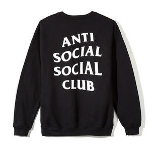 アンチ(ANTI)のanti social social club スウェット M 新品 トレーナー(スウェット)
