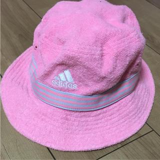 アディダス(adidas)のアディダス パイル地  帽子(ハット)