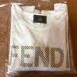 FENDI - フェンディ  FENDI ホワイト 白 Tシャツ 長袖 S XS