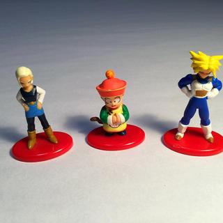 コカコーラ(コカ・コーラ)のドラゴンボール コカコーラ キャラクター フィギュア 3種セット(フィギュア)