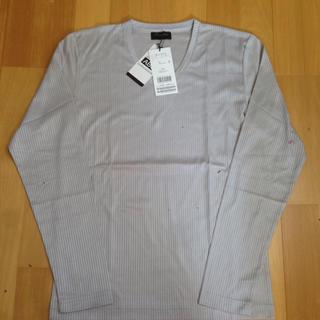 メンズビギ(MEN'S BIGI)の新品タグ付き☆ メンズビギ グレーカットソー(Tシャツ/カットソー(七分/長袖))