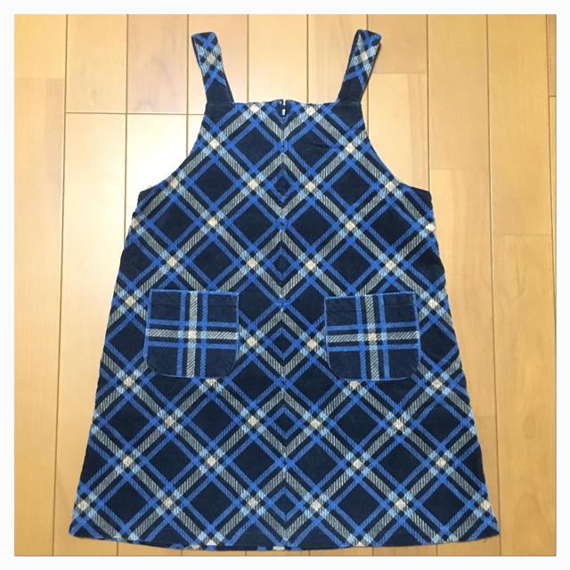 467e3781ad4b5 kumikyoku(組曲)(クミキョク)の☆KUMIKYOKU FAM コーデュロイジャンパースカート☆120cm