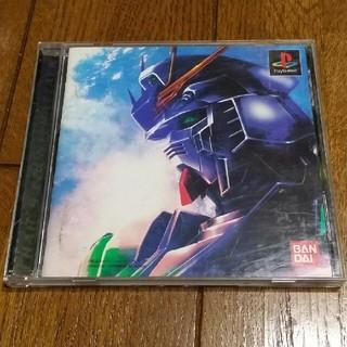 プレイステーション(PlayStation)のPS ソフト ガンダム 逆襲のシャア(家庭用ゲームソフト)