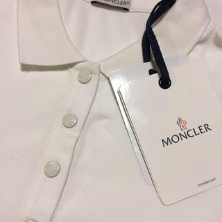 モンクレール(MONCLER)の新品モンクレールポロシャツ(ポロシャツ)