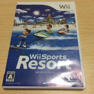 ウィー(Wii)のWii Sports Resort(家庭用ゲームソフト)