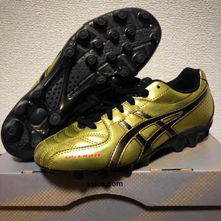 asics - 【新品】asics アシックス  サッカー スパイク 23cm 日本人の足に最適