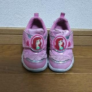 MOONSTAR  - 【送料込】14cm アリエル ムーンスター スニーカー プリンセス ディズニー