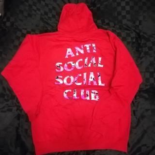 アンチ(ANTI)のアンチソーシャルソーシャルクラブ  フーディー パーカー L  正規品 anti(パーカー)