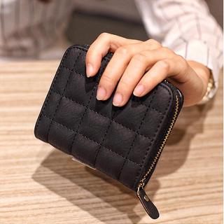 二つ折り財布 レディース ミニ財布 小銭入れ お札 コインケース 新品 未使用(折り財布)