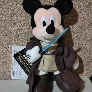 Disney - 新品♪ディズニーランドスターウォーズぬいぐるみバッジ ミッキー
