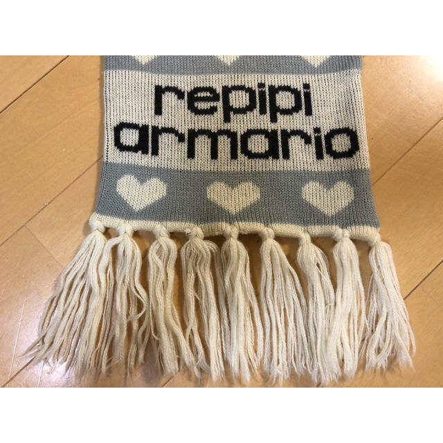 repipi armario(レピピアルマリオ)のマフラー(ペンケースプレゼント付)  レディースのファッション小物(マフラー/ショール)の商品写真