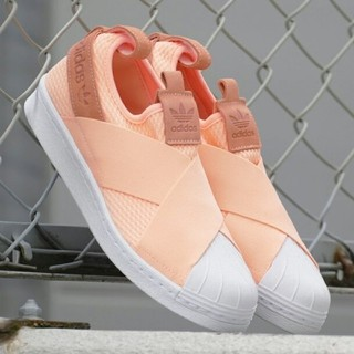 adidas - 定価9,709円 24.0cm adidas ss slip on w