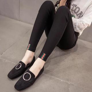 adidas - 【大人気】レギンス パンツ スキニー タイツ おしゃれ 黒 レディース M